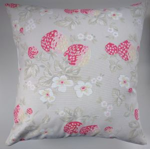 Cushion Cover in Cath Kidston Wild Strawberry 16""